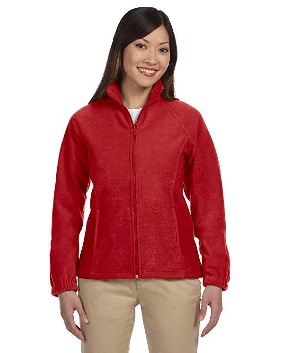 Quick Fact About Fleece Jackets, Fleece Pullovers: fleece jackets have a full zipper front whereas fleece pullovers have ½ or ¼ zipper fronts.