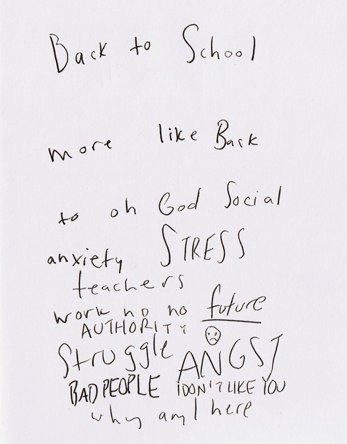 Quotes About School Anxiety 29 Quotes