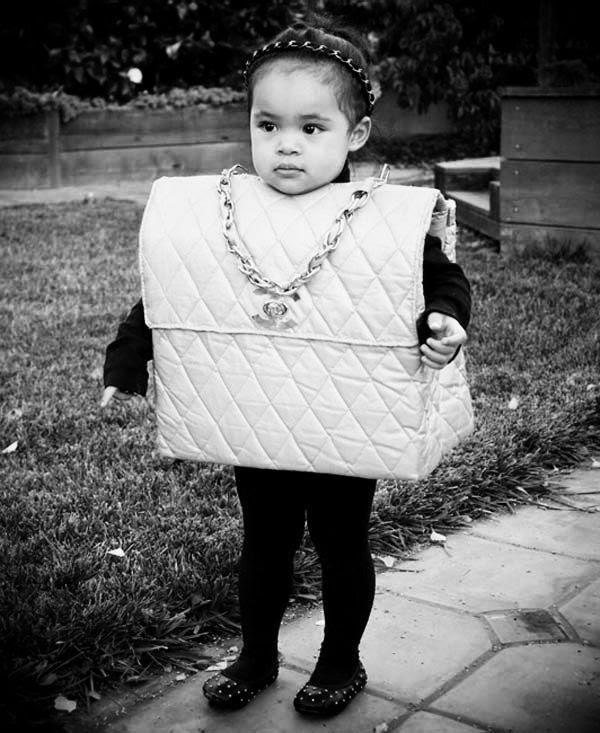 halloween costume chanel bag