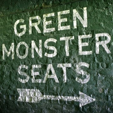 Fenway Park's Green Monster Seats - 8x10 Photographic Print