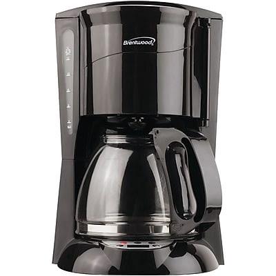 Brentwood 12 Cup Digital Coffee Maker, Black