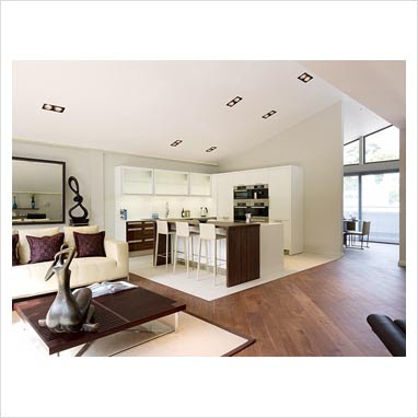 GAP Interiors - Modern open plan kitchen and living room - Picture ...