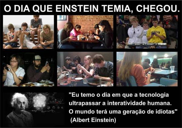 Einstein Previu Que O Mundo Teria Uma Geração De Idiotas