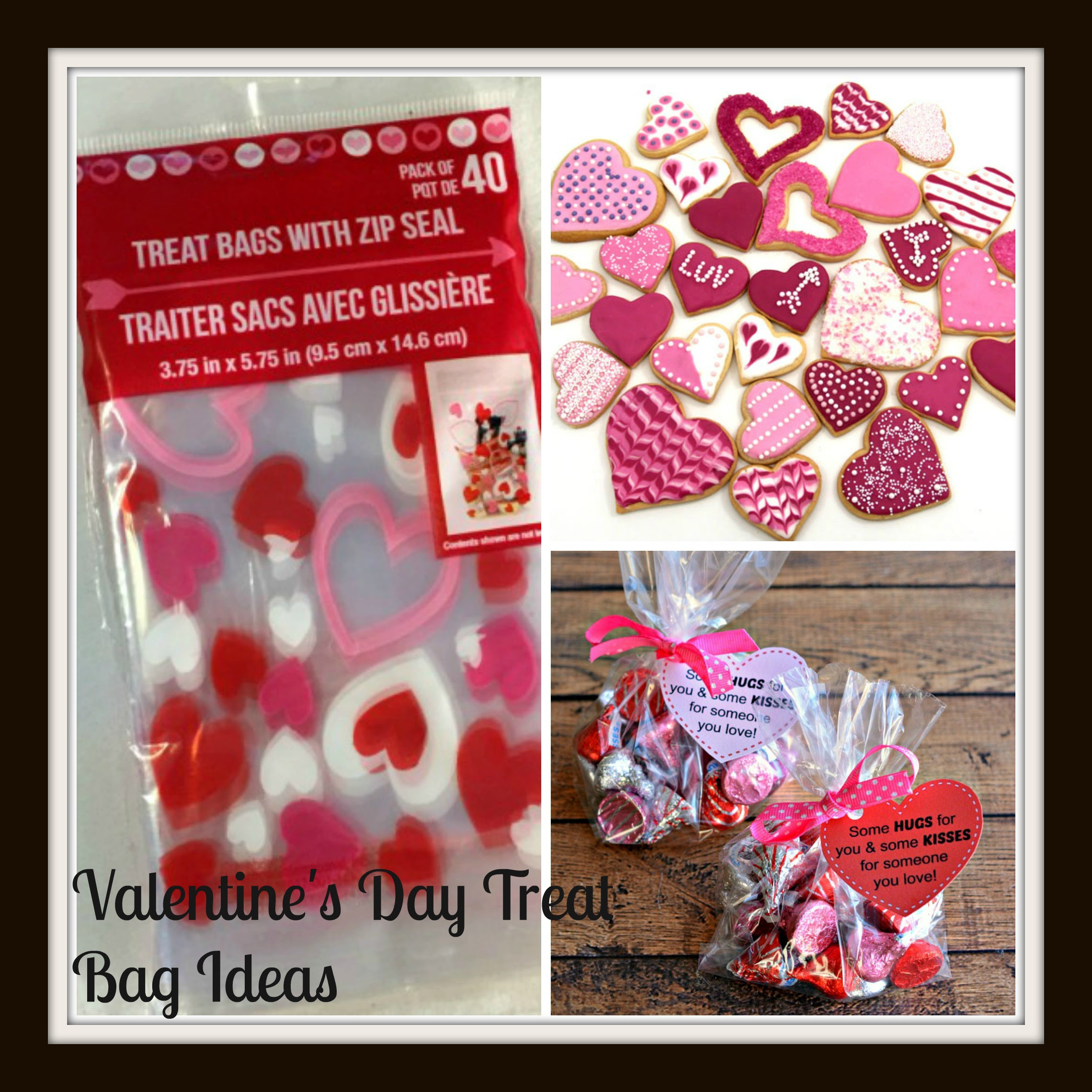 Diy Valentines Day Treat Bags Saving Mamasita