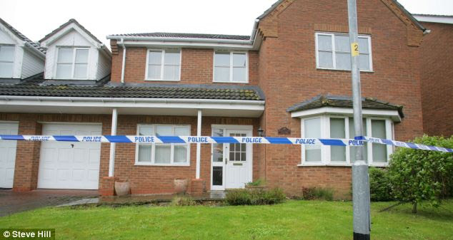 aThe curtains at the house in Lincolnshire remained closed following this morning's raid