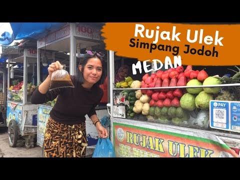 Nyobain Rujak Ulek Simpang Jodoh Medan