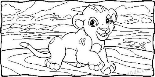 Aslan Kral Boyama Sayfası 68 40dk Eğitim Bilim Kültür Sanat