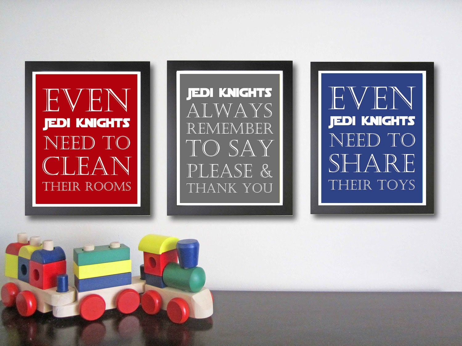 Nursery art print Star Wars Decor Children by FitToPrintDesigns