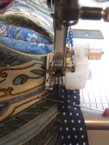 Sew Bias Tape with Blind Hem Foot