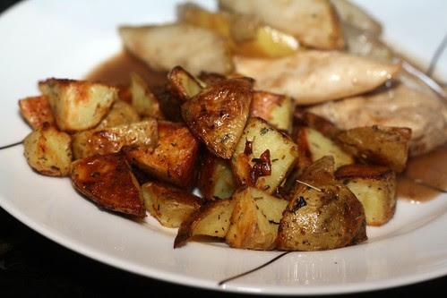 Herb Roasted Yukon Gold Potatoes