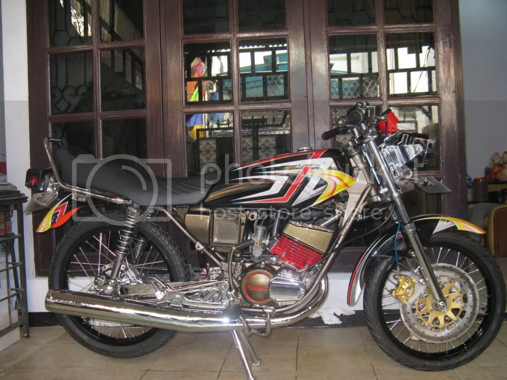 Koleksi Modifikasi Motor King Drag Terbaru Dunia Motor