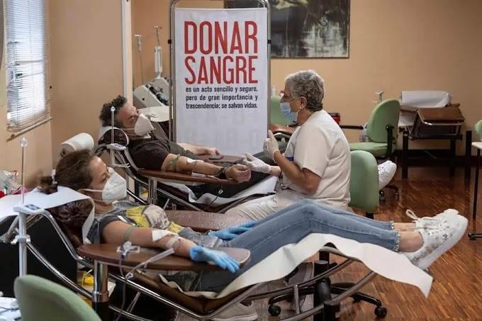 VACUNADOS CONTRA LA COVID-19  PUEDEN DONAR SANGRE