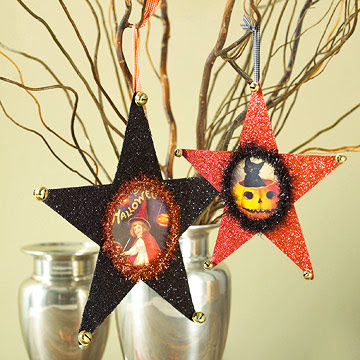 Halloween Star Ornaments