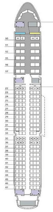 Airbus A321 Seating Chart American