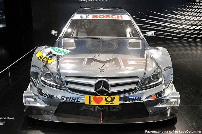 Racing car from tuning studio AMG: