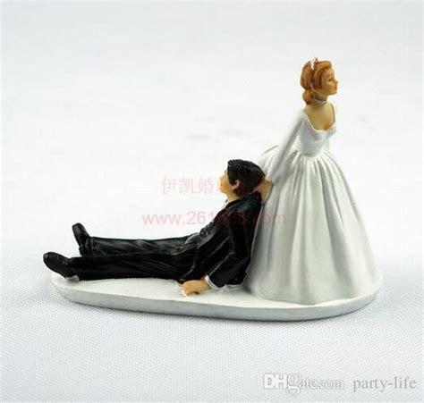Runaway Groom Funny Wedding Cake Topper Personalized Cake