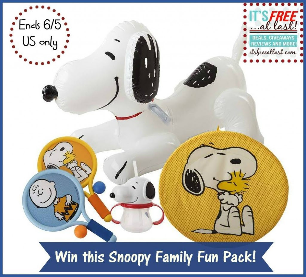 Enter the Peanuts & Target Summer Fun Prize Pack Giveaway. Ends 6/5