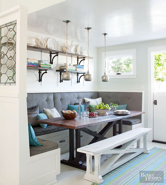 Banquettes for Small Spaces