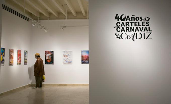 La exposición de carteles, visitable hasta el 4 de marzo