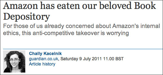 http://www.guardian.co.uk/commentisfree/2011/jul/09/amazon-book-depository-takeover