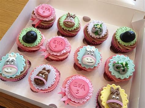 Horse Riding Cupcakes   All Things Cake   Pinterest   Cake