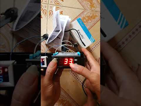 Anh em chạy xe Cont lạnh nên xem : Hướng dẫn sử dụng Bộ điều khiển máy lạnh EW181Y - 12vdc