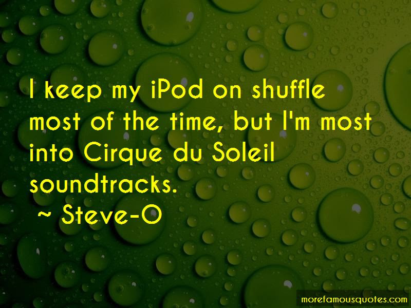 Quotes About Cirque Du Soleil Top 14 Cirque Du Soleil Quotes From