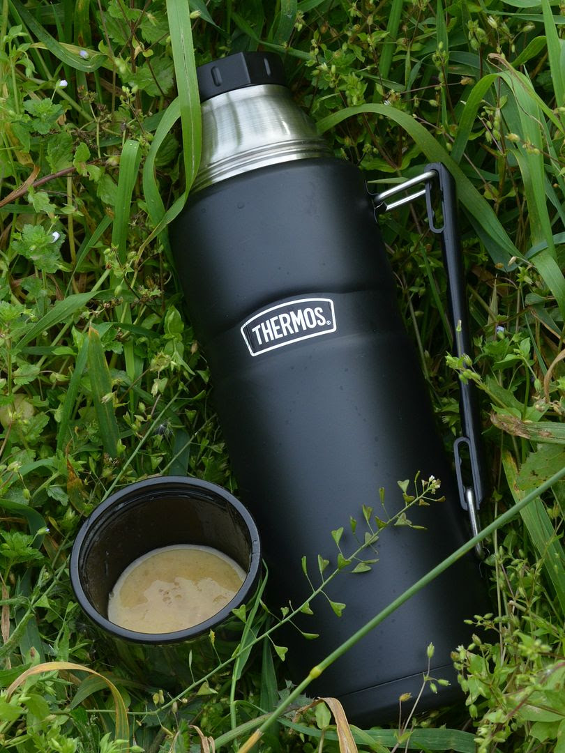 Creamy Onion Soup (and a Thermos Flask review)