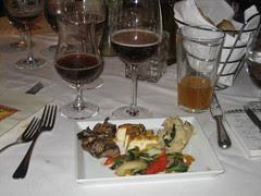 Main course: vegetarian
