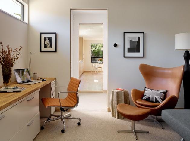 Mid Century Modern Office Home Design Northmallowco