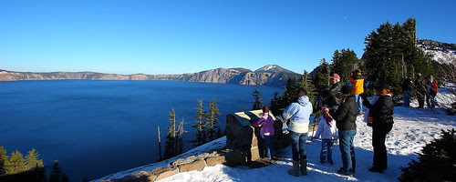 IMG_2764 Crater Lake & Tourists