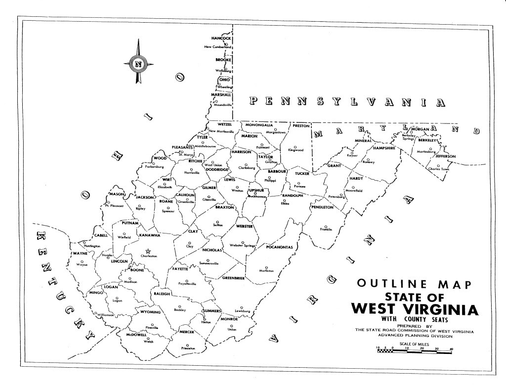 Image Result For Map Of Wv Counties And Cities