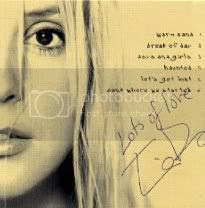 Tina Dico's autograph!