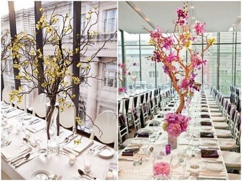 1000  images about Manzanita tree centerpieces on