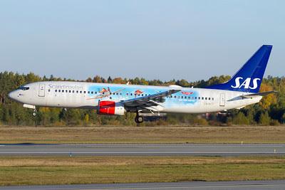 Scandinavian Airlines-SAS Boeing 737-883 LN-RCY (msn 28324) (Disney Planes - See the Movie) ARN (Stefan Sjogren). Image: 913801.