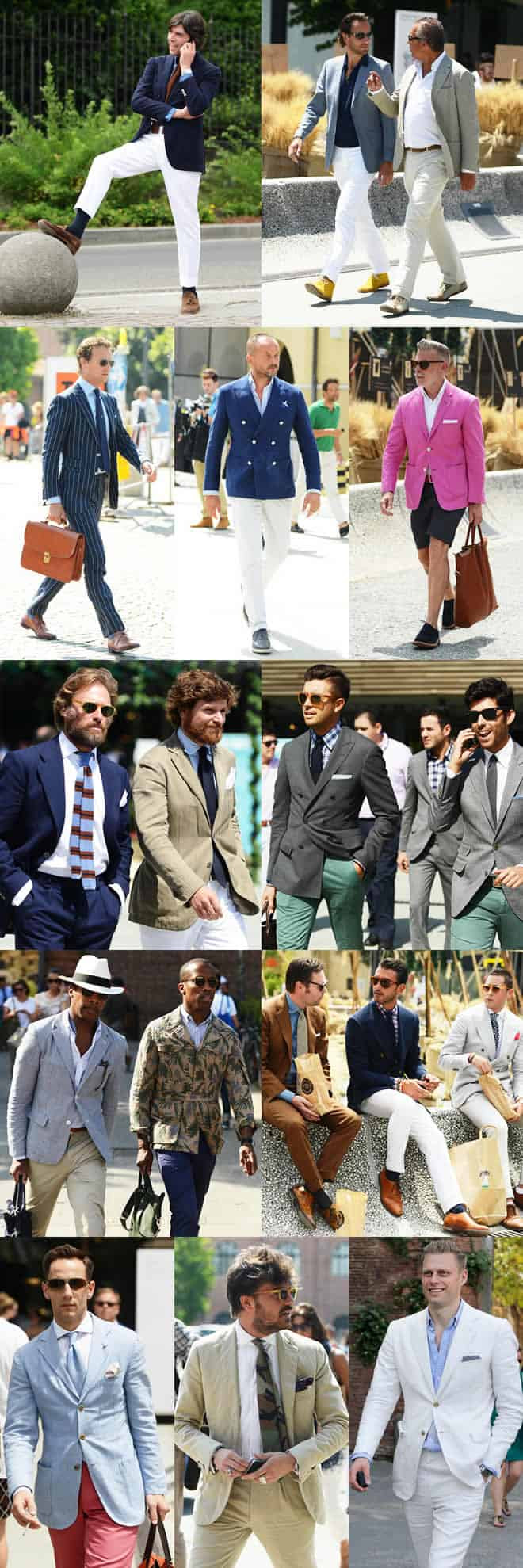 The Men Of Pitti Uomo 2012