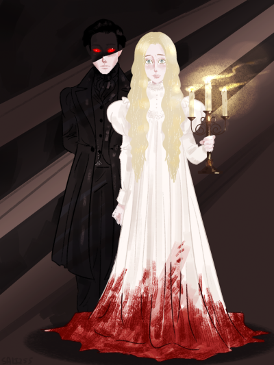 Crimson Peak fan art