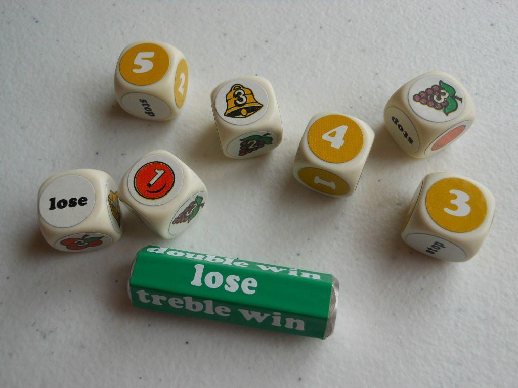 Cashpot dice