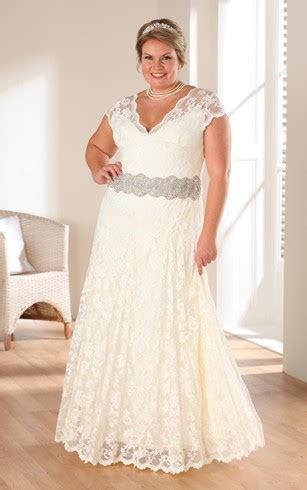 Informal Plus Size Wedding Dresses, Casual Plus Size