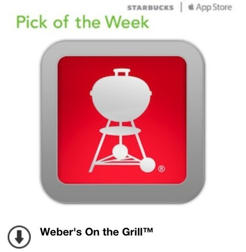 Starbucks iTunes Pick of the Week - Weber's On the Grill