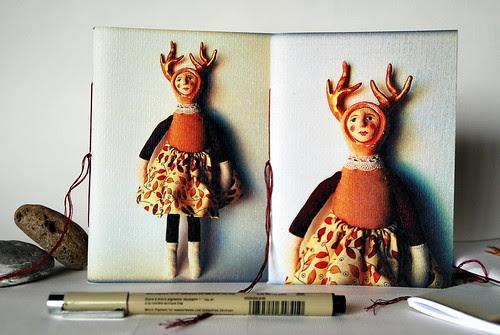 Notebook Deer Doll