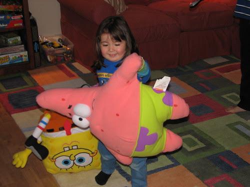 Dova with Patrick and Spongebob