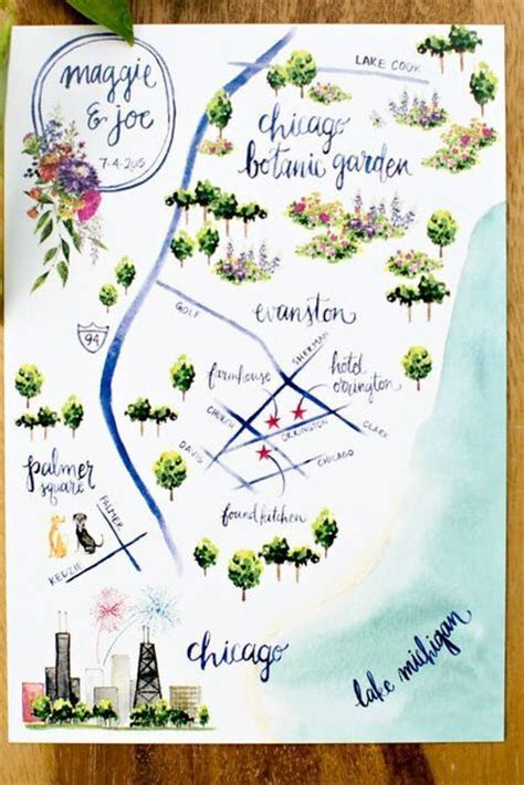 25  best ideas about Wedding Maps on Pinterest