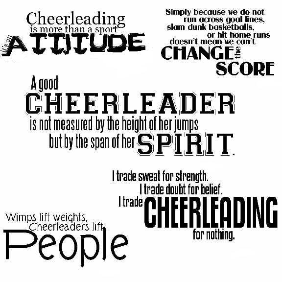 Inspirational Quotes For Competition Cheerleader - Rumah 009
