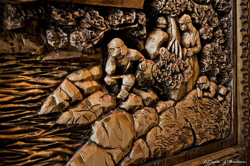 As incríveis pinturas esculpidas de Kronid Gogolev 21