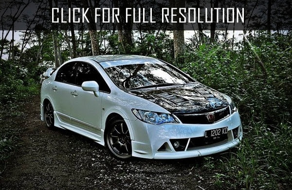 63 Modifikasi Mobil Honda Civic Tua HD