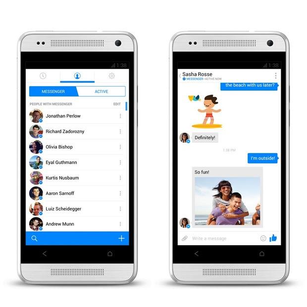 Messenger está de cara nova (Foto: Divulgação)