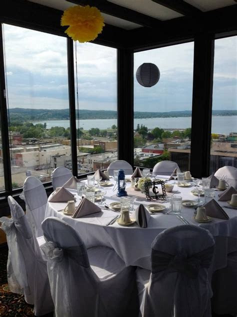 Reception at the Top of the Park Place Hotel in Traverse