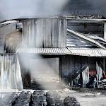 Incendie à Viry: les pompiers ont lutté contre les flammes une bonne partie de la journée