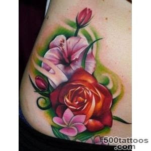 Flowers Tattoo Designs Ideas Meanings Images
